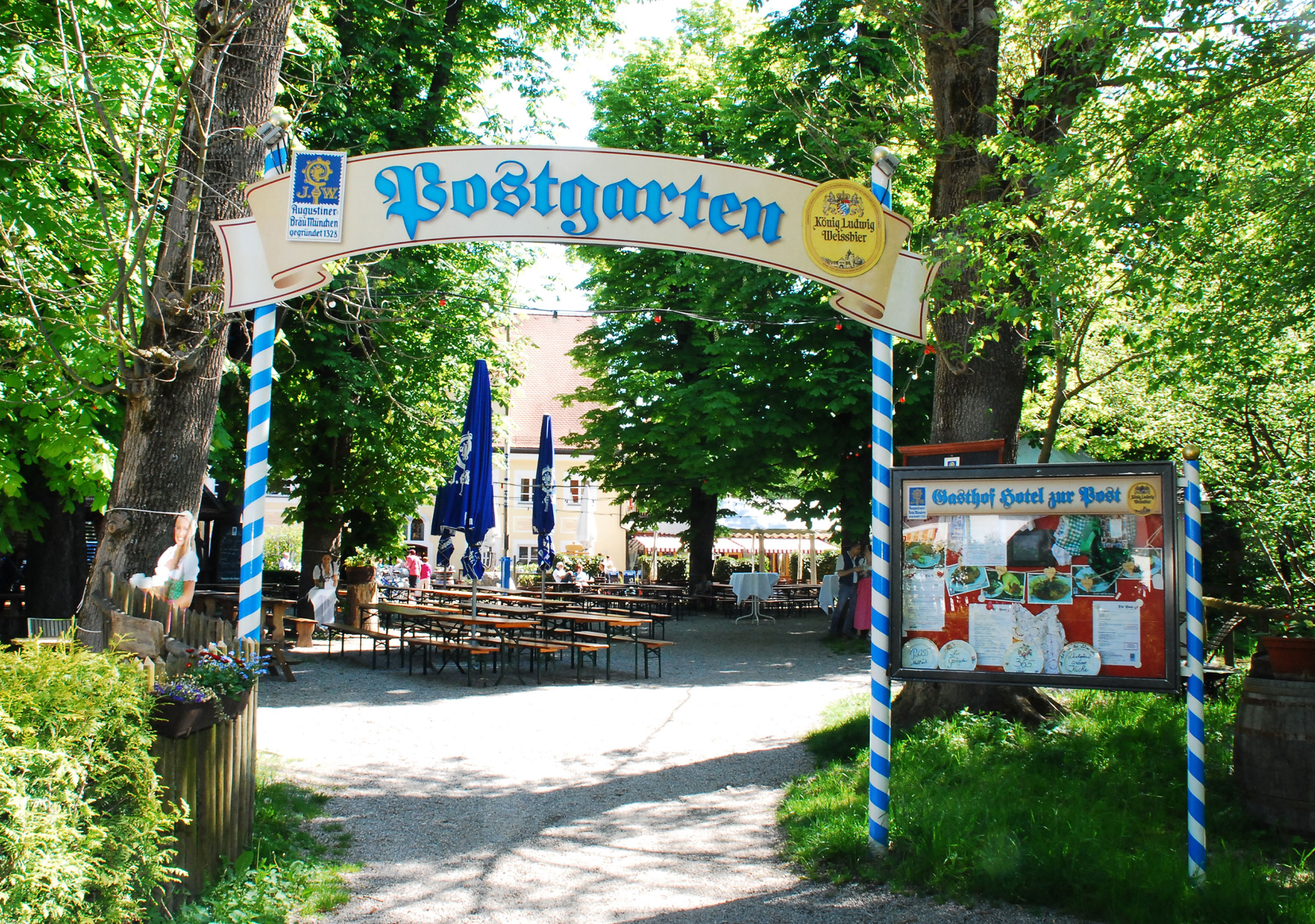 Post Biergarten