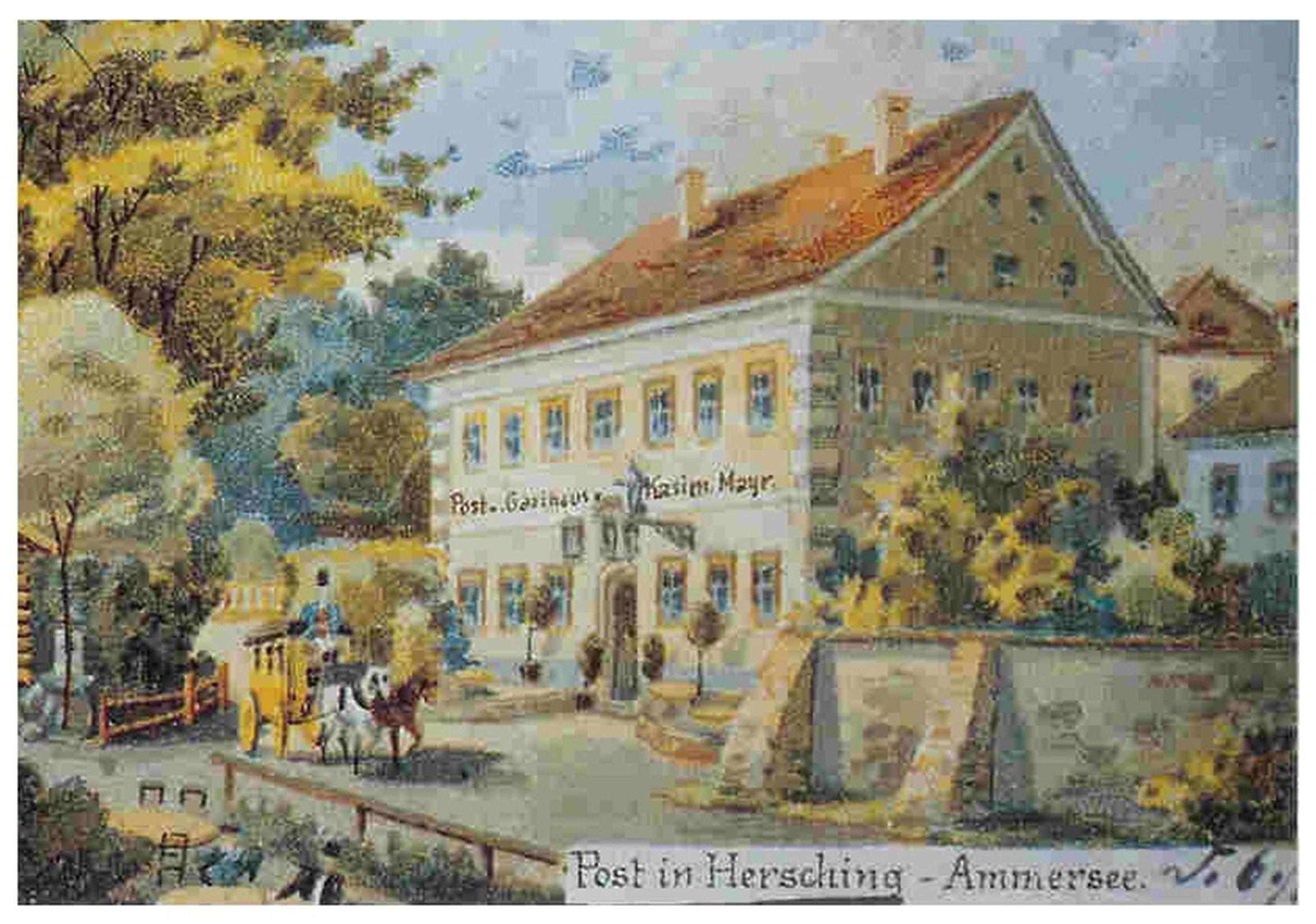 Geschichte Gasthof Post in Herrsching