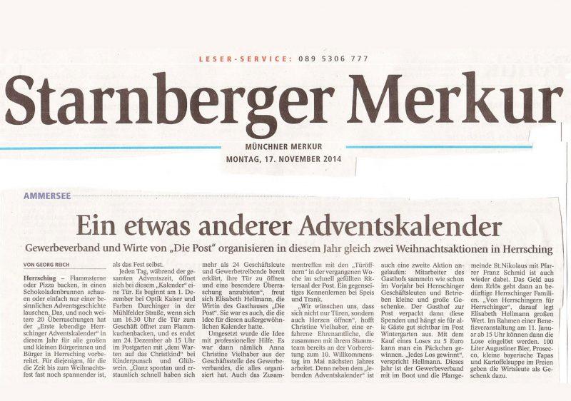 Starnberger Merkur 2014