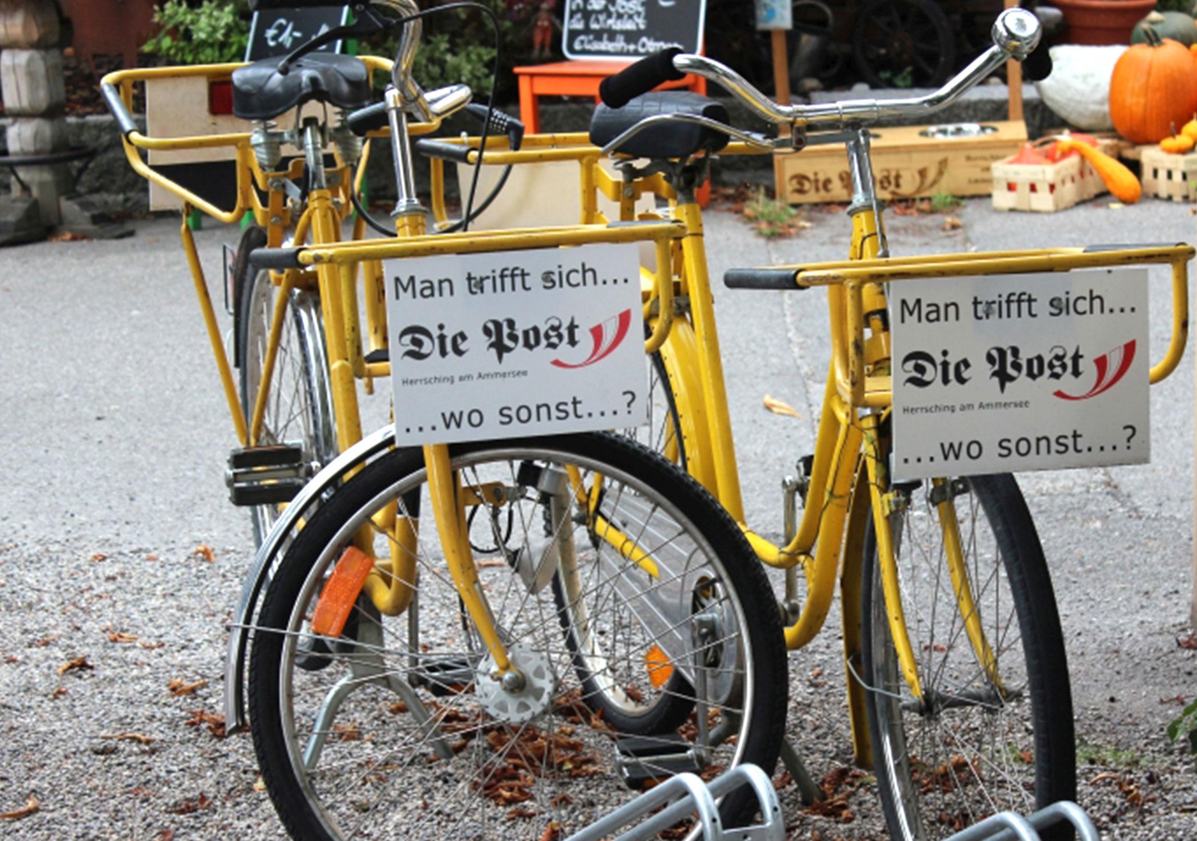 We're here by bike